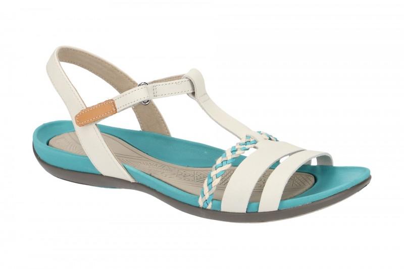 Clarks TEALITE GRACE Riemchen Sandale für Damen in beige