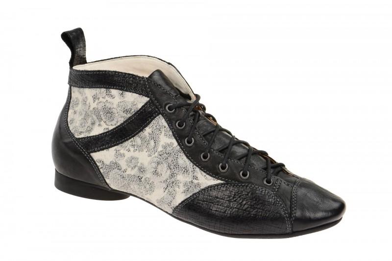 Think GUAD elegante Stiefelette für Damen in schwarz