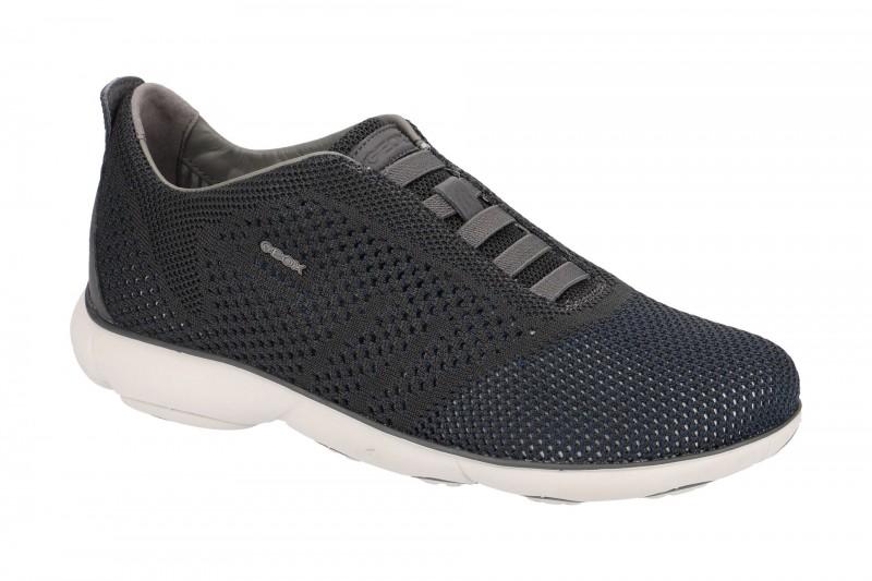 Geox NEBULA sportliche Slipper für Herren in dunkel-grau