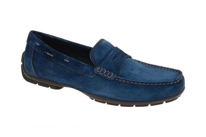 Geox Respira Monet D Schuhe in blau Herren Slippers