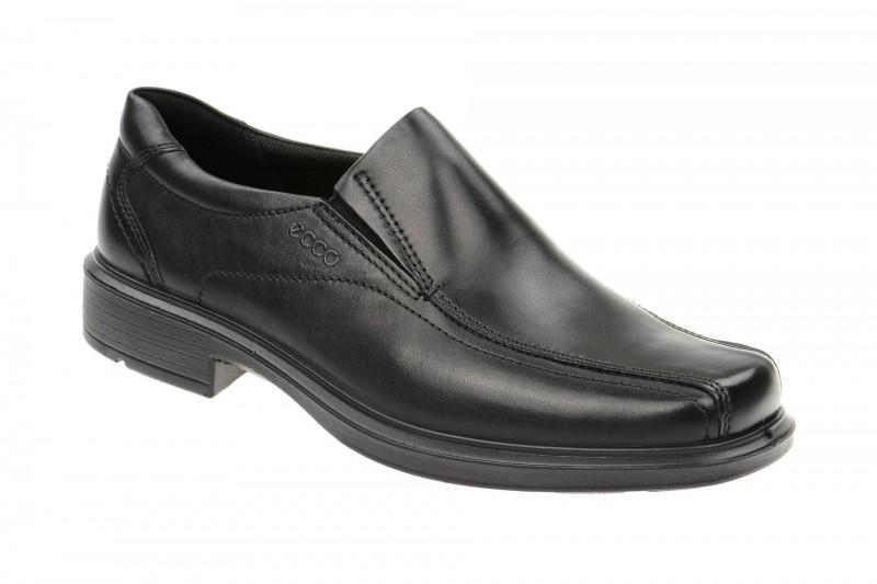 Ecco HELSINKI elegante Slipper für Herren in schwarz