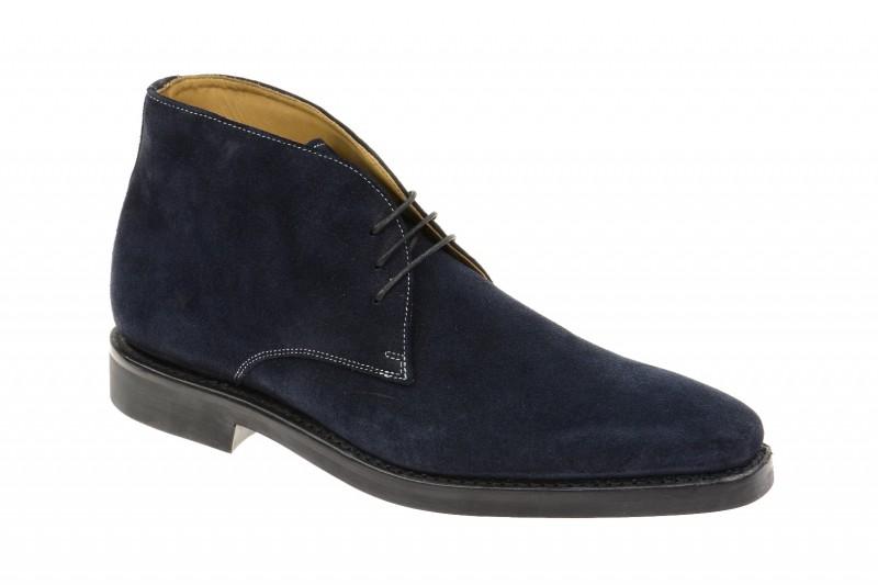 Gordon & Bros. Gregory elegante Stiefelette für Herren in dunkel-blau