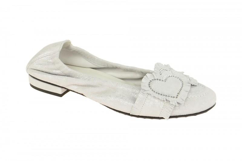 Kennel & Schmenger MALU Ballerina - Halbschuhe - Slipper für Damen in weiß