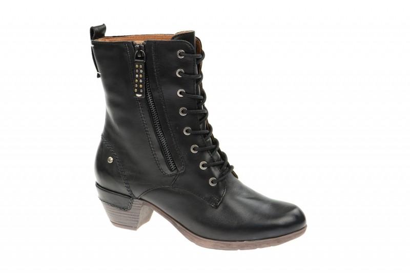 Pikolinos ROTTERDAM elegante Stiefel für Damen in schwarz