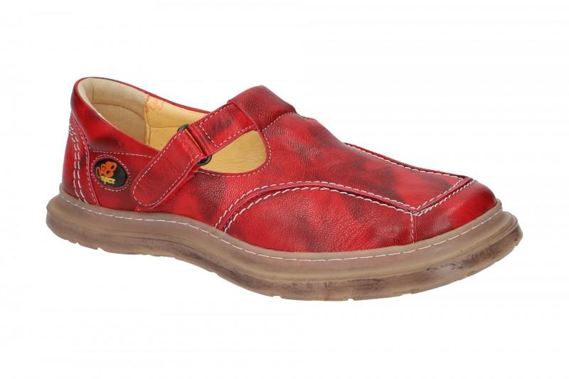 Eject SONY2 sportliche Slipper für Damen in rot