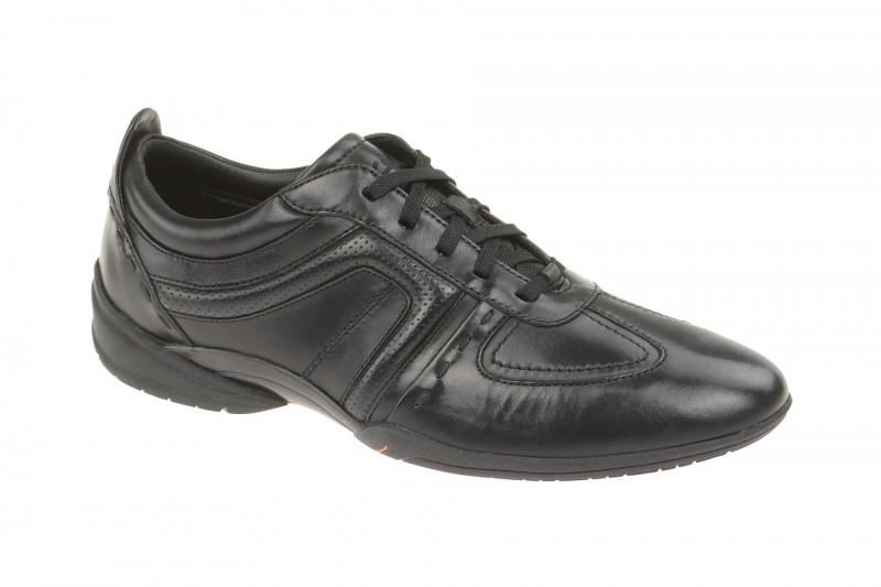 Clarks FLUX SPRING elegante Halbschuhe und Schnürschuhe für Herren in schwarz