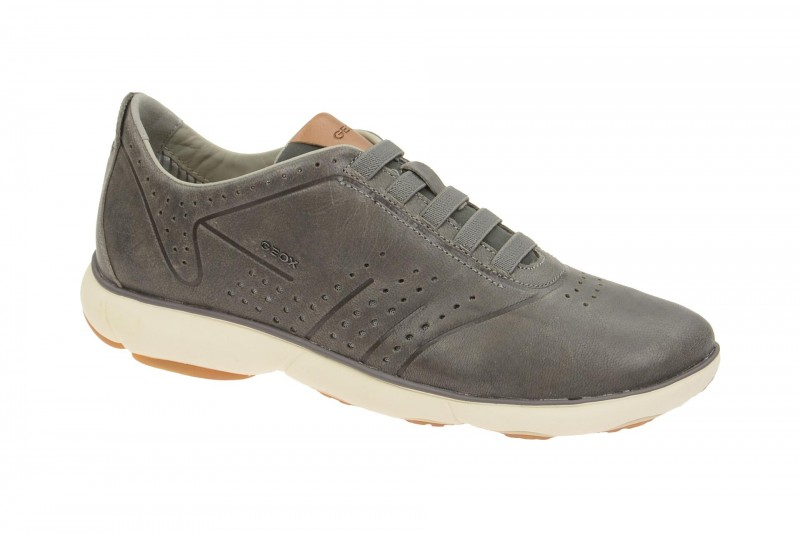 Geox Respira Nebula C Sneakers in grau Herren Slippers