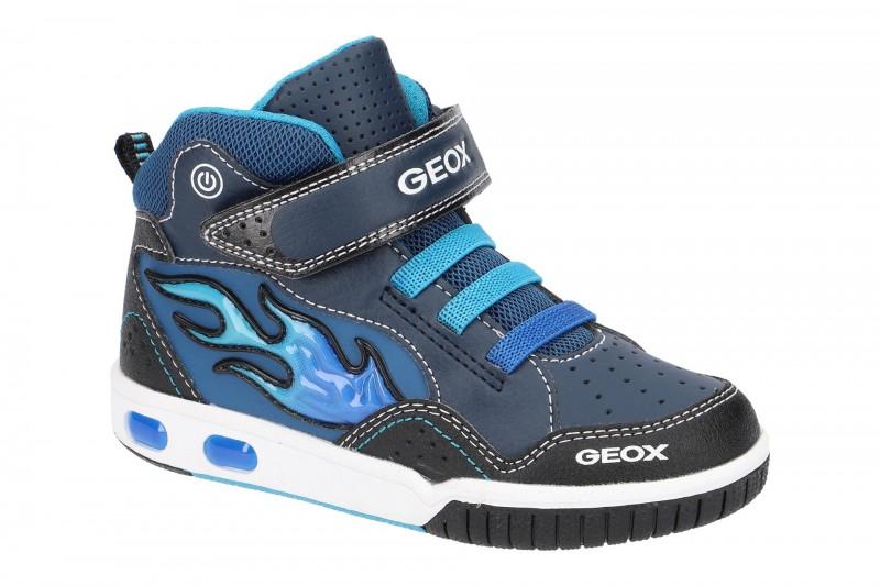 Geox GREGG Kinderschuhe Jungen in dunkel-blau