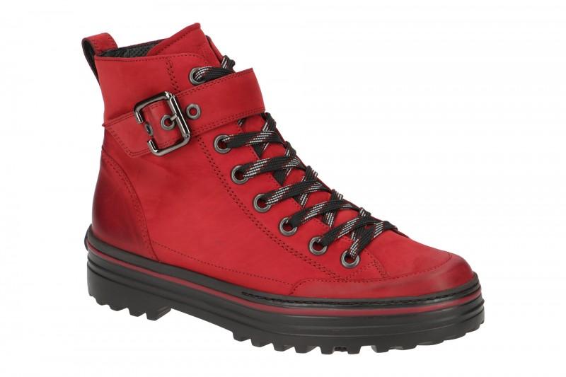 Paul Green 4852 Stiefeletten für Damen in rot