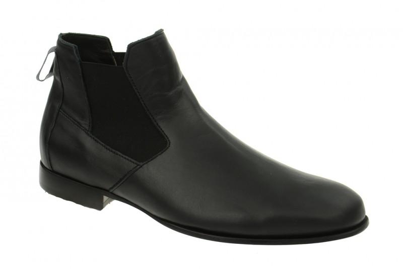 Think ZEAN elegante Stiefelette für Herren in schwarz