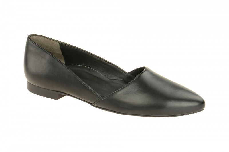 Paul Green 2214 elegante Slipper für Damen in schwarz