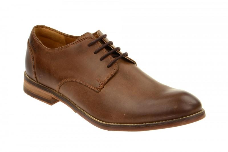 Clarks EXTON WALK elegante Halbschuhe und Schnürschuhe für Herren in braun