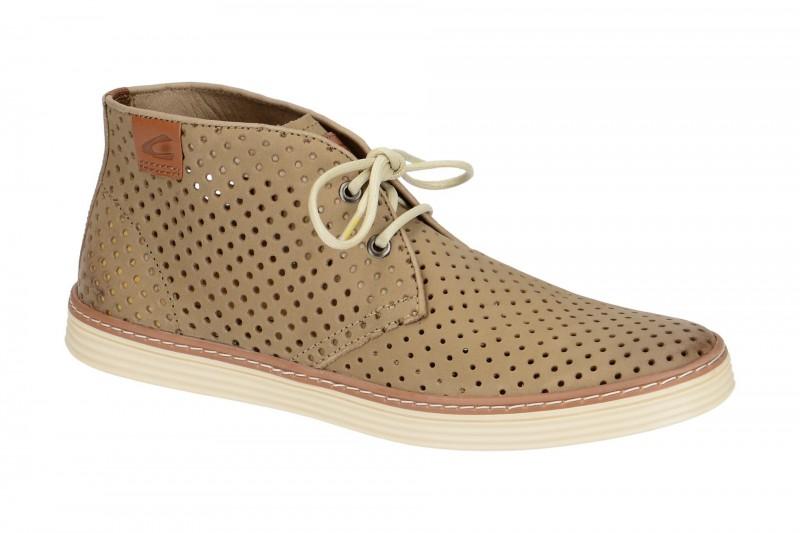 camel active COPA Mid Cut Sneakers für Herren in beige