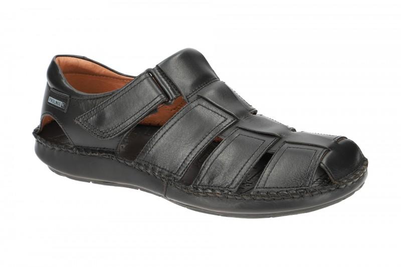 Pikolinos TARIFA bequeme Sandale für Herren in schwarz