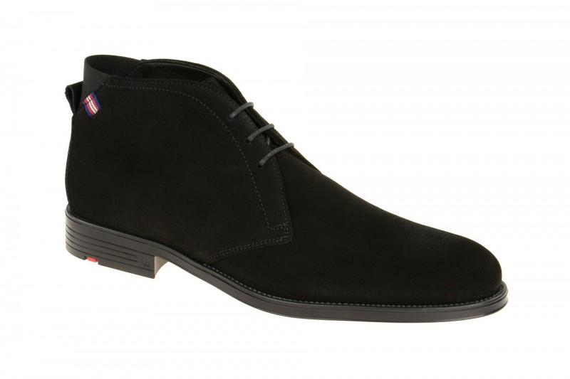 Lloyd PATRIOT elegante Stiefelette für Herren in schwarz