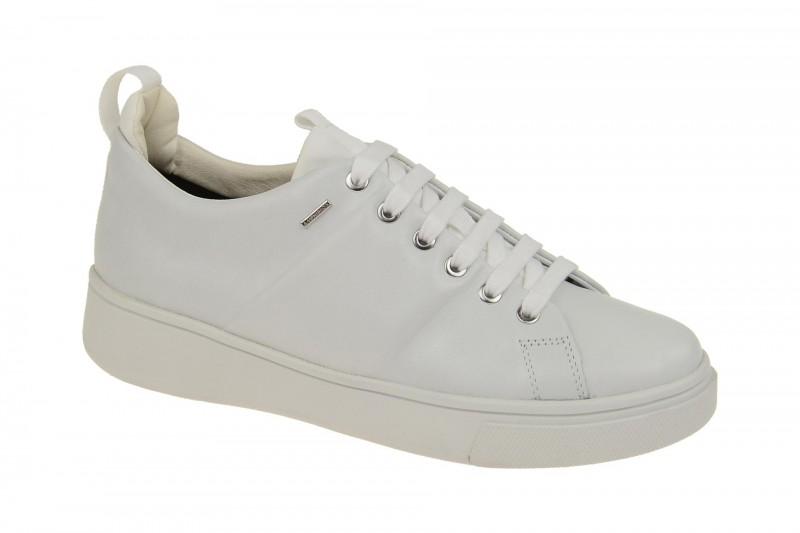 Geox Mayrah ABX Damen Schnür- Schuhe weiß Amphibiox