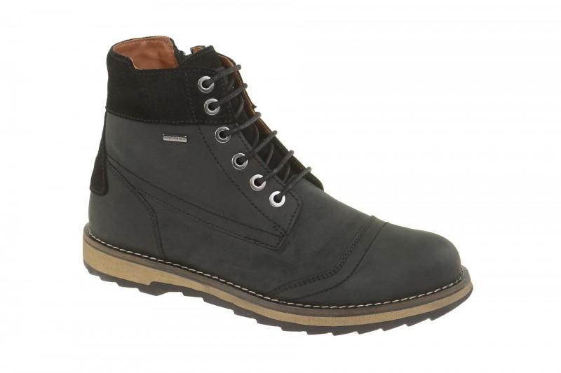 Geox Respira Shoovy A Männer Boots in schwarz - Amphibiox Stiefel