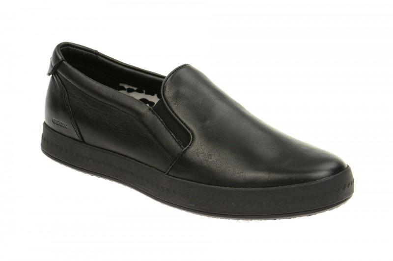 Geox Respira Modesty Schuhe in schwarz Damen Slipper