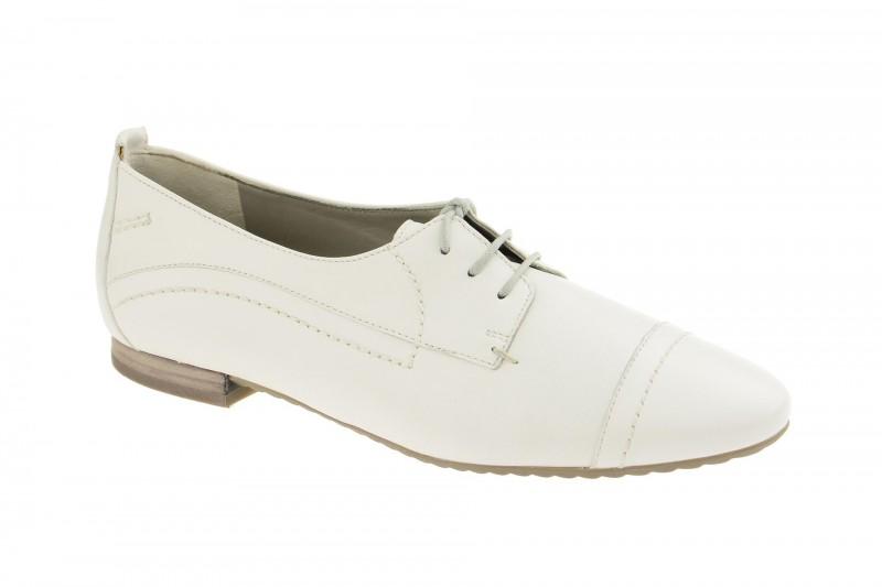 Paul Green 1537 elegante Halbschuhe für Damen in weiß