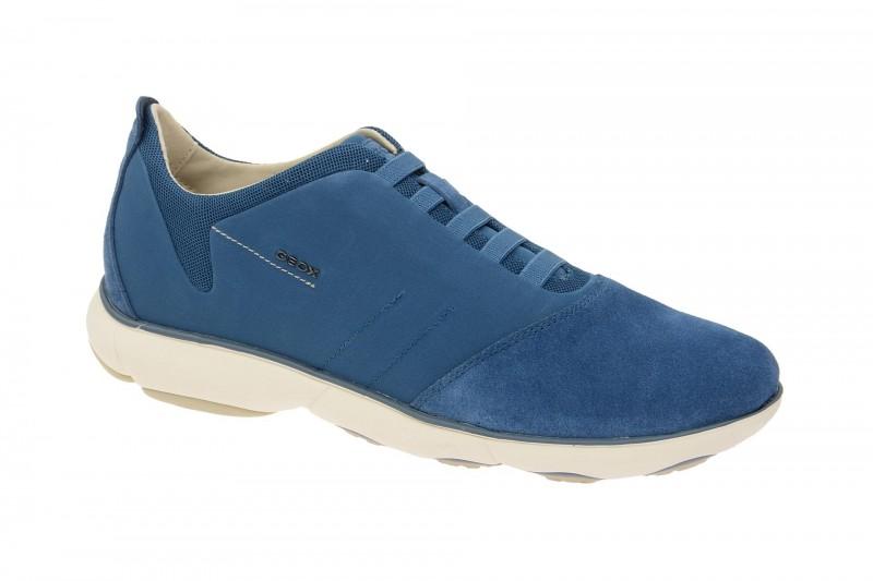 Geox Respira Nebula B Sneakers in hellblau Herrenschuhe
