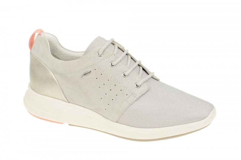 Geox Respira Ophira A Sneakers in hellgrau Damenschuhe