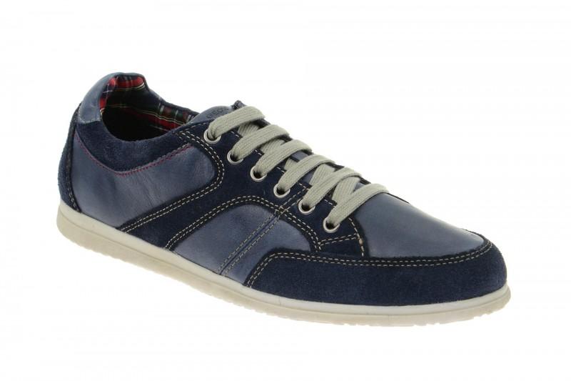 Geox Respira Copacabana Schnürschuhe in blau Herren Sneakers