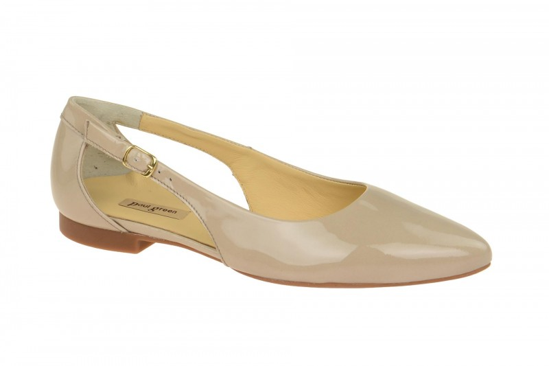 Paul Green 3254 elegante Slipper für Damen in beige