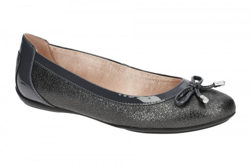 Geox CHARLENE Ballerina - Halbschuhe - Slipper für Damen in dunkel-grau