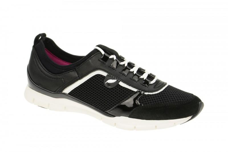 Geox Respira Sukie B Sneakers in schwarz Damenschuhe