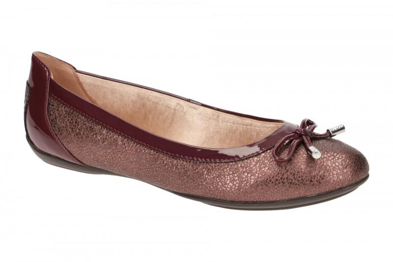 Geox CHARLENE Ballerina - Halbschuhe - Slipper für Damen in rot