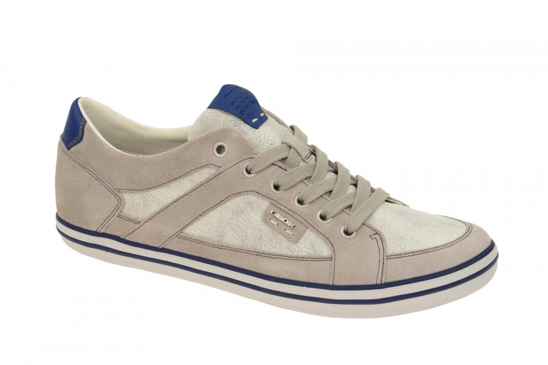 Geox Respira Box C Sneakers in antik grau Herrenschuhe
