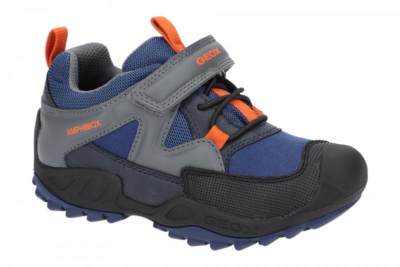 Geox Jungen Schuhe Savage ABX in blau grau Amphibiox