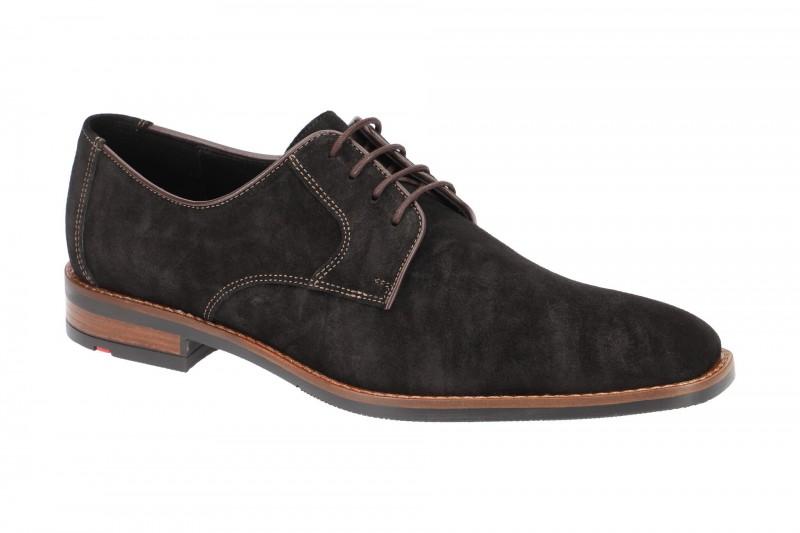 Lloyd STUART elegante Halbschuhe und Schnürschuhe für Herren in schwarz
