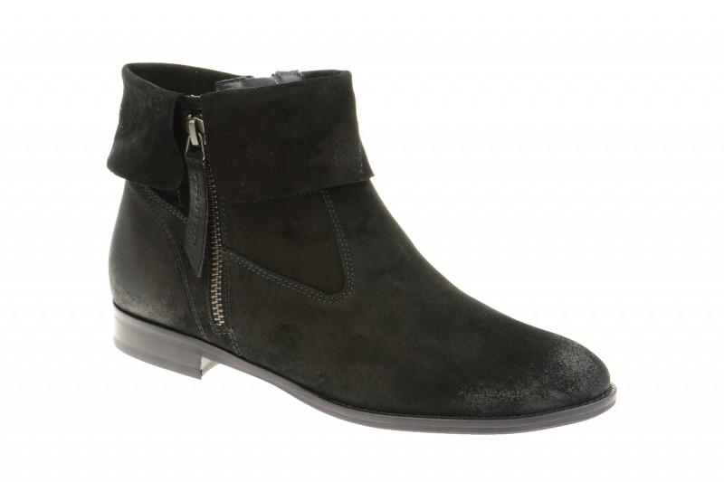 Paul Green 8398 elegante Stiefelette für Damen in schwarz
