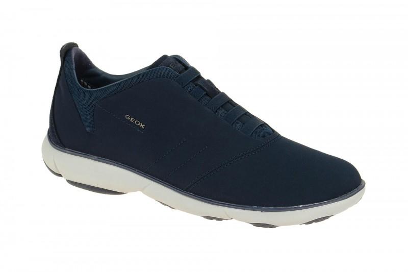 Geox Respira Nebula F Slippers in dunkelblau grau Sneakers