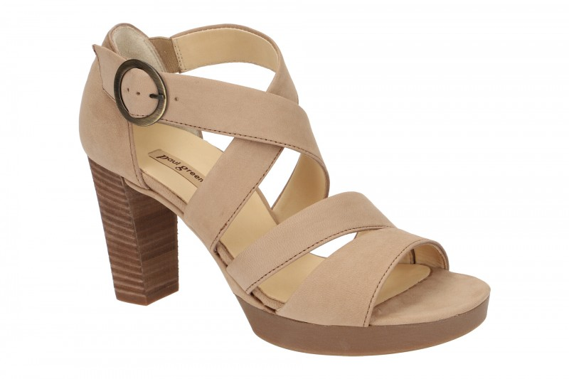Paul Green 6657 Sandalette für Damen in beige