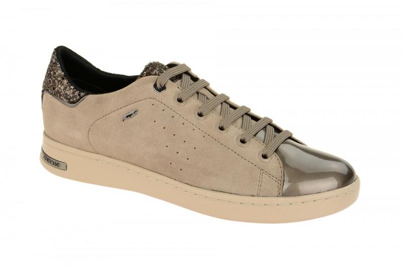 Geox Respira Jaysen A Damen Halbschuhe im grau mix Sneaker