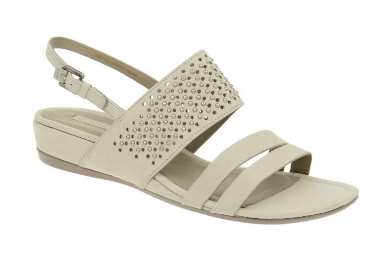 Ecco TOUCH 25 Riemchen Sandale für Damen in hell-grau