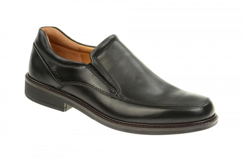 Ecco HOLTON elegante Slipper für Herren in schwarz