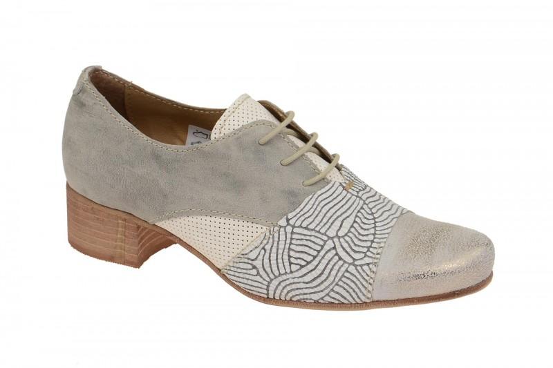 Charme 0070 elegante Halbschuhe für Damen in grau