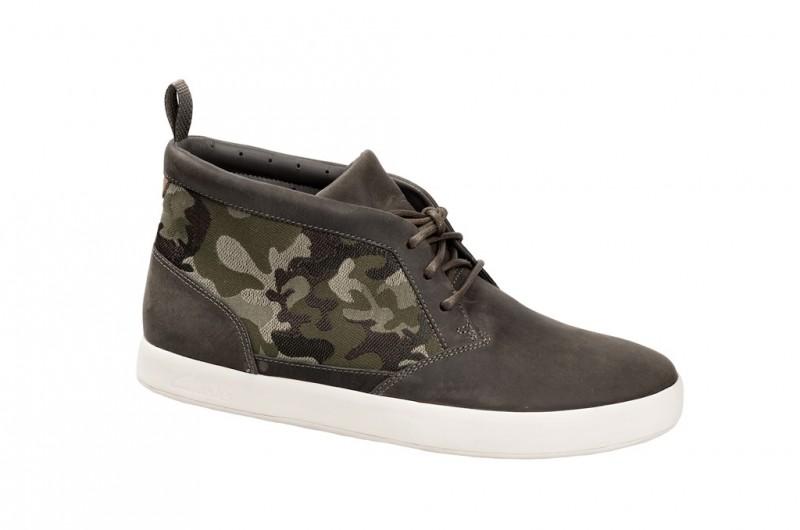 Clarks Tanner Sky Sneakers für Herren in grün