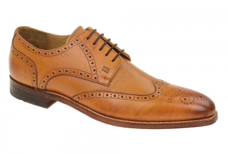 Gordon & Bros. MILAN Rahmengenähte Schuhe für Herren in hell-braun