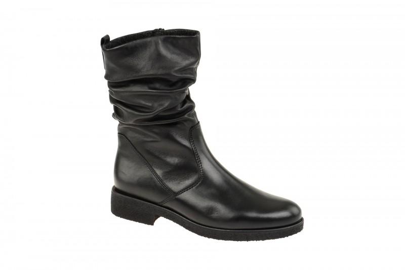 Gabor 52.703 bequeme Stiefelette für Damen in schwarz