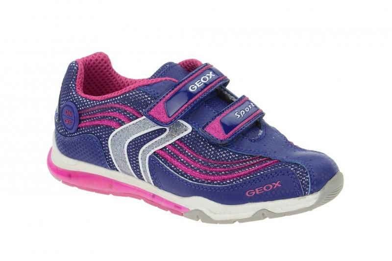 Geox Magica Mädchen Schuhe Kindenschuhe in blau pink