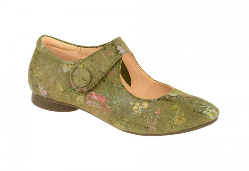 Think GUAD bequeme Slipper für Damen in grün