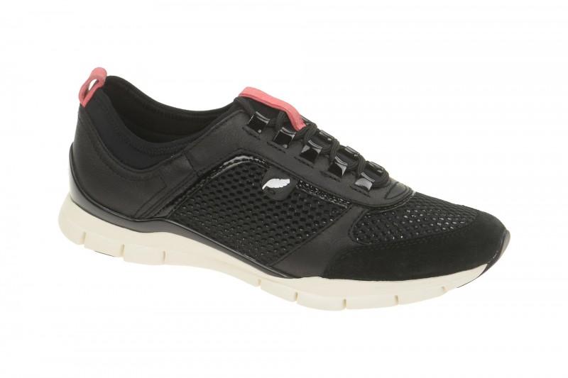 Geox Respira Sukie B Sneakers in schwarz