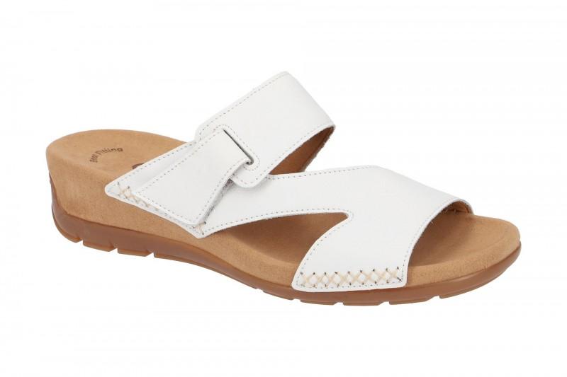 Gabor 83.730 bequeme Pantolette für Damen in weiß