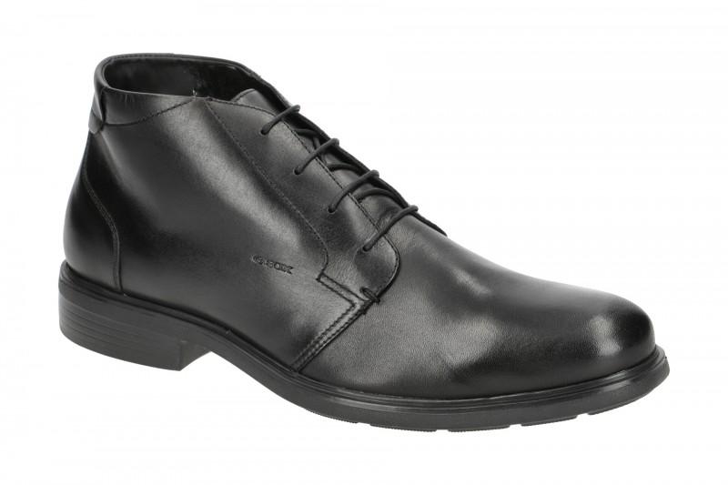 Geox DUBLIN elegante Stiefelette für Herren in schwarz