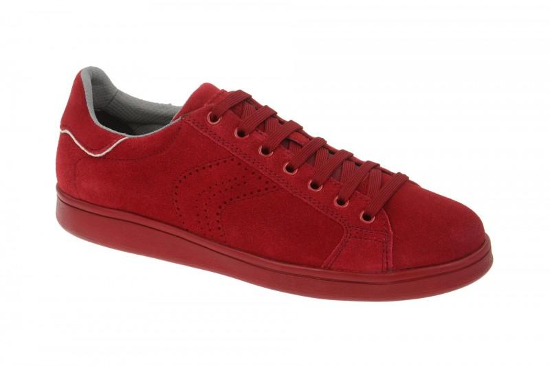 Geox Respira Warrens B Sneakers in rot Herrenschuhe