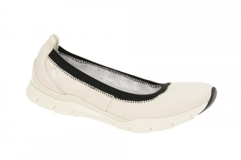 Geox Respira Sukie C Slippers in weiß Ballerinas